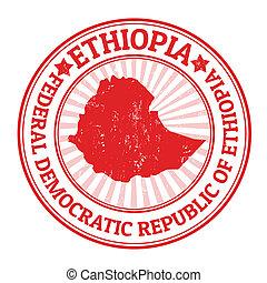 timbre, ethiopie