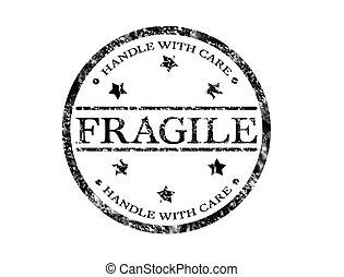 timbre, fragile