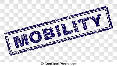 timbre, grunge, rectangle, mobilité