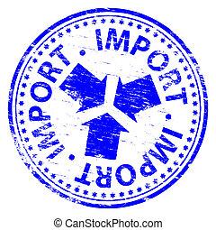 timbre, importation