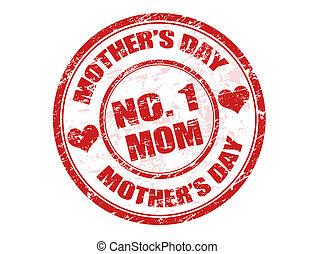 timbre, jour, mère