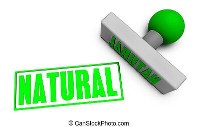 timbre, naturel
