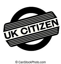timbre, noir, royaume-uni, citoyen
