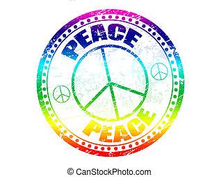 timbre, paix
