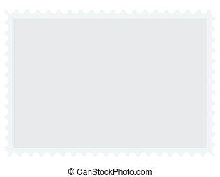 timbre postal, texte, vecteur, endroit, vide, ton