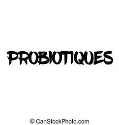 timbre, probiotics, francais