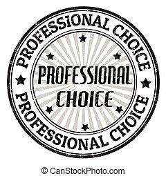 timbre, professionnel, choix