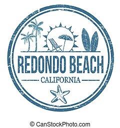 timbre, redondo, plage, ou, signe