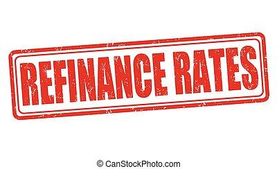 timbre, refinance, taux, ou, signe