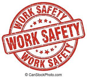 timbre, sécurité, travail, grunge, rouges