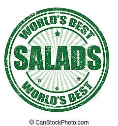 timbre, salades