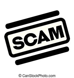 timbre, scam, noir