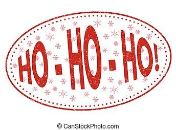 timbre, signe, ou, ho-ho-ho!