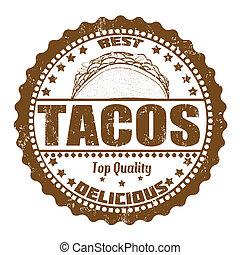 timbre, tacos