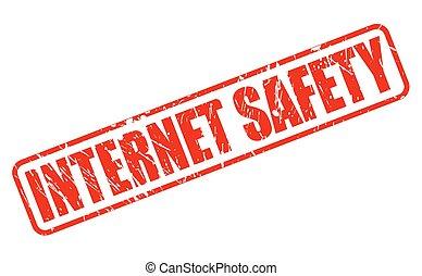 timbre, texte, sécurité, rouges, internet