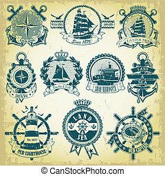 timbre, thème, ensemble, nautique