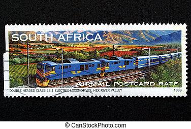 timbre, train, afrique, sud