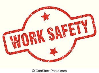 timbre, travail, sécurité
