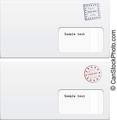 timbre, vecteur, enveloppes