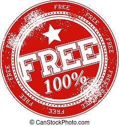 timbre, vecteur, grunge, gratuite