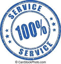 timbre, vecteur, service