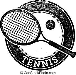 timbre, vendange, tennis, sport