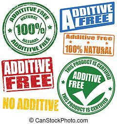 timbres, additif, gratuite
