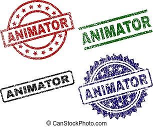 timbres, animator, grunge, textured, cachet