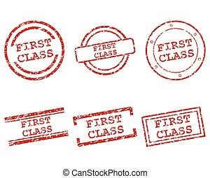 timbres, classe, premier