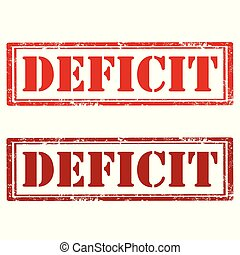 timbres, deficit-red