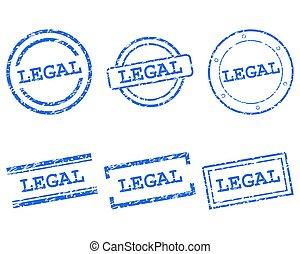 timbres, légal