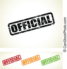 timbres, officiel