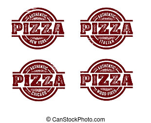 timbres, pizza