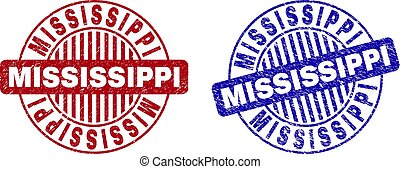 timbres, textured, grunge, mississippi, rond