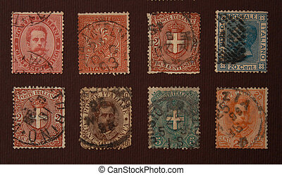 timbres, vieux