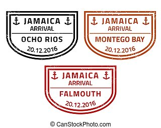 timbres, voyage, jamaïque