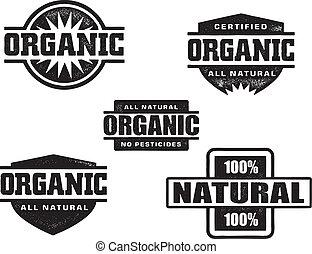 timbri gomma, organico