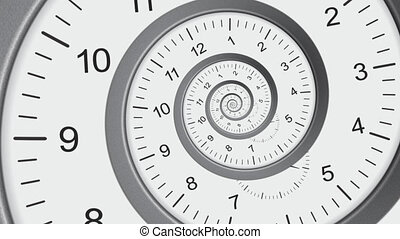Time abstract 2 - Time abstract animation