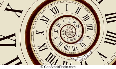 Time abstract animation