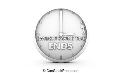 daylight saving time - time change to daylight saving time ...