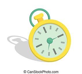 Time clock design.