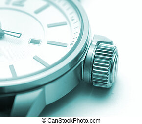 Time Concept - Watch macro.