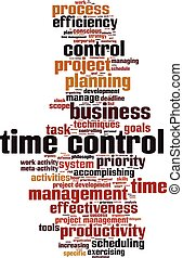 Time control word cloud