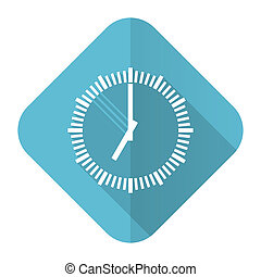 time flat icon clock sign