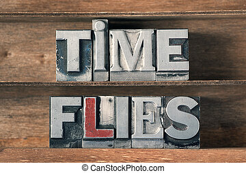 time flies tray