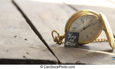 time for action idea