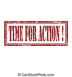 Time For Action-stamp