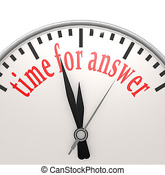 Time for answer clock