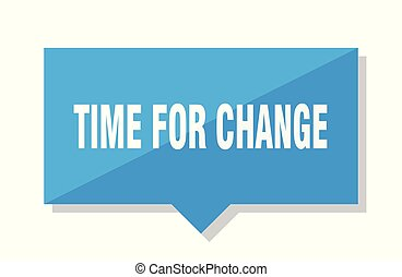time for change price tag
