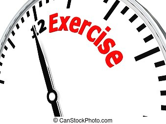Time for exercise